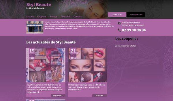 Institut Styl'beauté La Roche-Bernard (56)