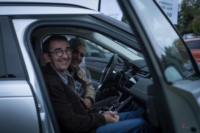 Soirée business cocktail - Présentation Range Rover