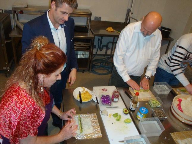 Atelier sushis Le prunier généreux