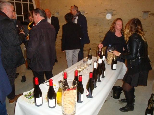 Cocktail fin de soirée présentation des vins